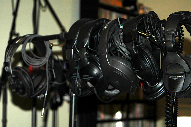 Headphones for bands photo